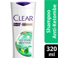 CLEAR Shampoo Ice Cool Menthol 320ml