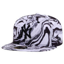 NEW ERA MARBLE PRINT - New York Yankees Multicolor [59Fifty/Fitted Cap]