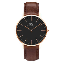 Daniel Wellington Classic Black Bristol - 40mm