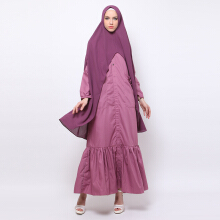 NAFEESA Adia Dress Purple All Size