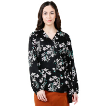 THE EXECUTIVE Women  5-BLWDYN118D026 Blouse -Black