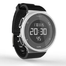 Decathlon Run K1 Sports waterproof electronic watch-White&Black