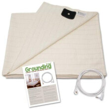 [COZIME] Conductive Earth/Ground Protection Flat Sheet Health Care Function Sheet White