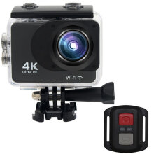 [kingstore]S100R Double Screen 2.0 Inch TFT Action Camera 140 Degree Wide Angle Camera Black Black