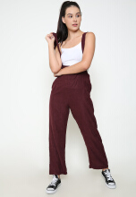 Shop at Banana Luna Overall Maroon All Size