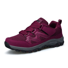 Zanzea Mesh Breathable Walking Shoes For Women Red 36