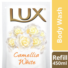 LUX Body Wash Camellia White Refill 450ml