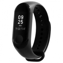 Mi Band 3 Smart Bracelet Heart Rate Monitor Bluetooth 4.2 Wristband Black
