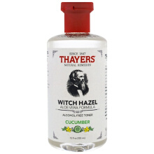 Thayers Witch Hazel Aloe Vera Formula Alcohol Free Toner Cucumber 12 fl oz 355 ml