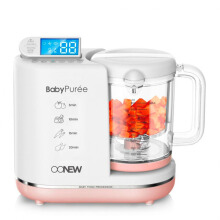OONEW Baby Food Processor Michelin Series - Pink Salmon
