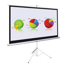 LETAEC Tripod Screen - 70 x 70 inch