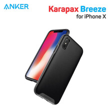 Anker Karapax casing Breeze for iPhone X Black - A9016011
