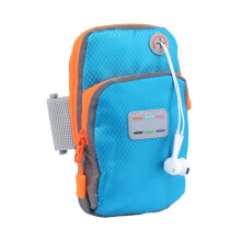 Jantens New running jogging GYM mobile phone bag sports wrist bag arm bag Blue