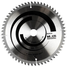 BOSCH Saw Blade Multi Material 7 inch 60T 193