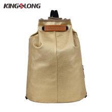 [COZIME] KINGSLONG Water Repellent Bucket Bag Unisex Canvas Bag Student School Backpack Others1
