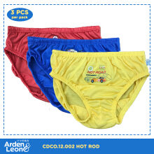 Arden&Leon (3pcs/pack) Celana Dalam Anak Laki-Laki Hot Rod Collection CDCO.12.002