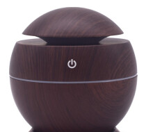 Jantens USB Aroma Essential Oil Diffuser Ultrasonic Cool Mist Humidifier Air Purifier deep wood