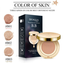BIOAQUA Exquisite and Delicate BB Cream Air Cushion Pack Gold + Free Refill