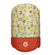 ARNOLD CARDEN Water Dispenser Bottle Cover Fruits Lemon - Orange