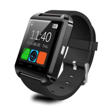 [kingstore] U8 Bluetooth Smart Watch Sports Passometer Altimeter Music Player Wrist Black