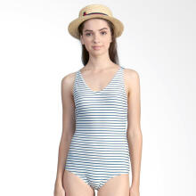 LEE VIERRA Nautical Leotard Swimsuit Baju Renang Wanita