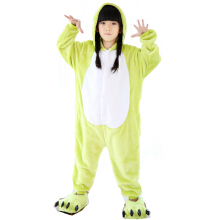 SESIBI Size 100~140 Kids Cartoon Clothes Parent-Child Homewear Siamese Pajamas Suit -Frog