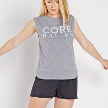 CoreNation Active Core Tank - Silver