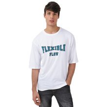 FACTORY OUTLET UG1802-0010 Mens T-Shirt With Print - White