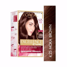 L'oreal Paris Excellence Creme Hair Color - NO 4.25 Moka Brown