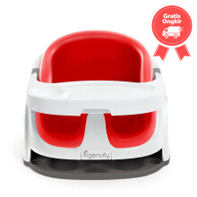 Ingenuity Baby Base 2 in 1 Poppy Red 10868