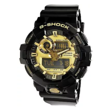 Casio G-SHOCK GA-710GB-1A Sports waterproof electronic watch-Black&Golden
