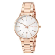 Police Polaris PL.15303BSR/01M Men White Dial Rose Gold Stainless Steel Watch [PL.15303BSR/01M]