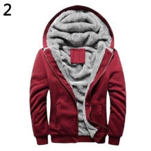 Farfi Men Winter Thick Cotton Coat Casual Hoodies Sport Baseball Jacket Outwear