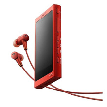 SONY MP3 player lossless bluetooth noise reduction music walkman nw-a36hn R (red)