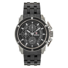 Expedition E 6748 MC BZBBA Man Chronograph Black Dial Black Stainless Steel Strap [EXF-6748-MCBZBBA]