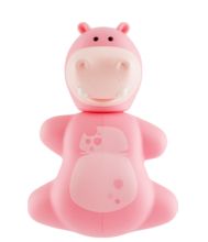 Flipper Toothbrush Holder Fun Animal Hippo