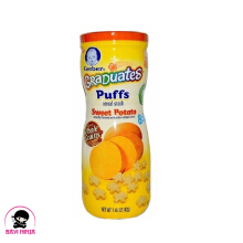 GERBER Graduates Puffs Sweet Potato Crackers 42 g