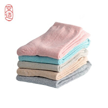 Jing Zao 5 Pairs of Tube Socks Women'S Socks Ladies Sweat-Absorbent Breathable Casual Cotton Socks Macarons Fashion Simple Socks