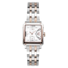 Expedition E 6695 BF BTRSL Ladies Beige Dial Dual Tone Stainless Steel Strap [EXF-6695-BFBTRSL]