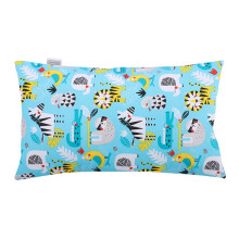 JOYLIVING Cushion Rectangular 30x50cm/Animals in Zoo- Tosca/yellow