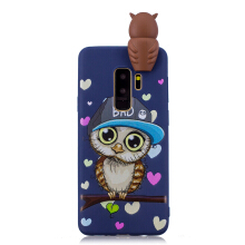 Moonmini 3D Cartoon Cute Soft TPU Dolls Toys Case for Samsung Galaxy S9 Plus