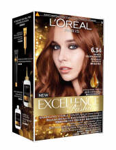 L'Oreal Paris Excellence Fashion 6.34 - Cat Rambut - Golden Auburn
