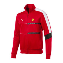 PUMA SF T7 Track Jacket - Rosso Corsa Red