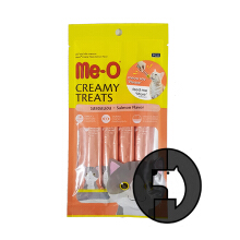 Me-O Creamy Treats 15 Gr X 4 Cat Salmon Flavor