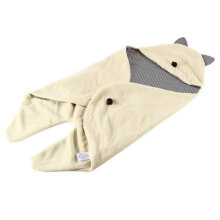 [COZIME] Cute Baby Infant Warm Blanket Swaddle Sleepsacks Bedding Sleeping Bag Wrap Beige