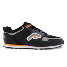 Fans Eureka O - Jogging Shoes Black Orange