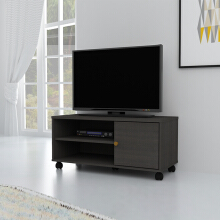 ANYA LIVING VR-7549 Rak TV Meja - Black Sandal Wood
