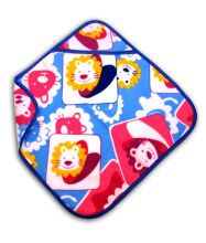 LustyBunny Baby Blanket Lion With Hat