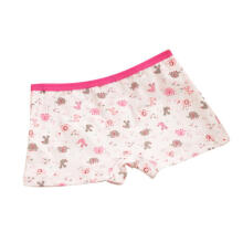 Farfi Lovely Cartoon Animals Elephant Printed Pure Cotton Girls Baby Kids Underpants 6-8 Years