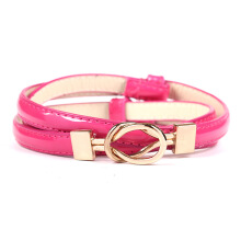 SiYing fashion Women's belt double buckle adjustment belt ladies belt